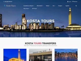 Kostatours.com Transport touristique Casablanca Maroc